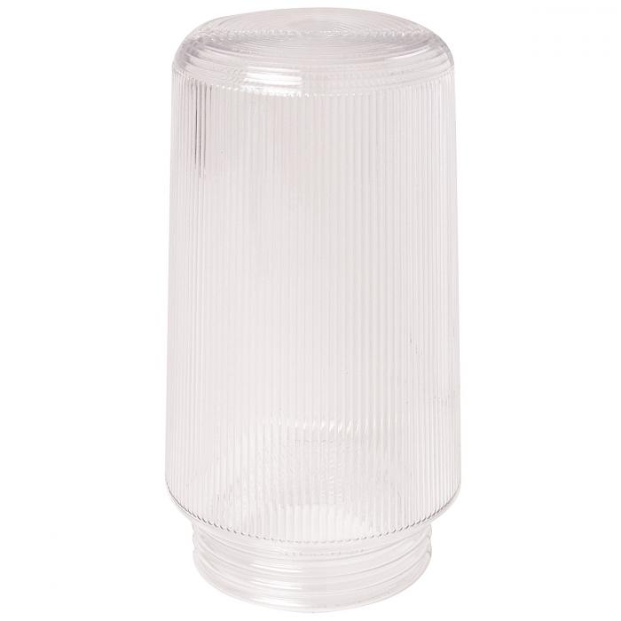 6 inch Clear Prismatic Plastic Globe