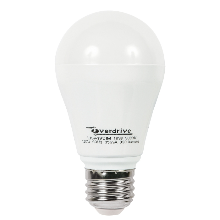 LED Overdrive Dimmable Lights - 10W/3000K