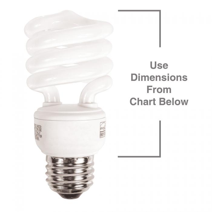 Greenlite™ Spiral Bulbs