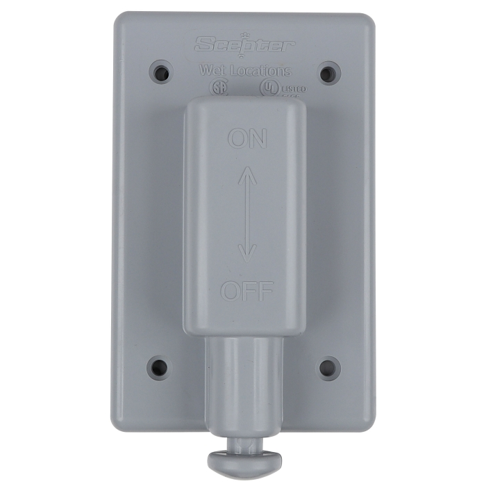Single Plunger Switch Cover