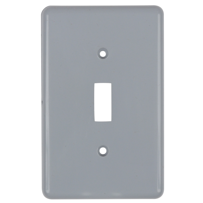 PVC Single Toggle Switch Cover