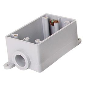 PVC Single Gang Box FS & FDS - A. 1