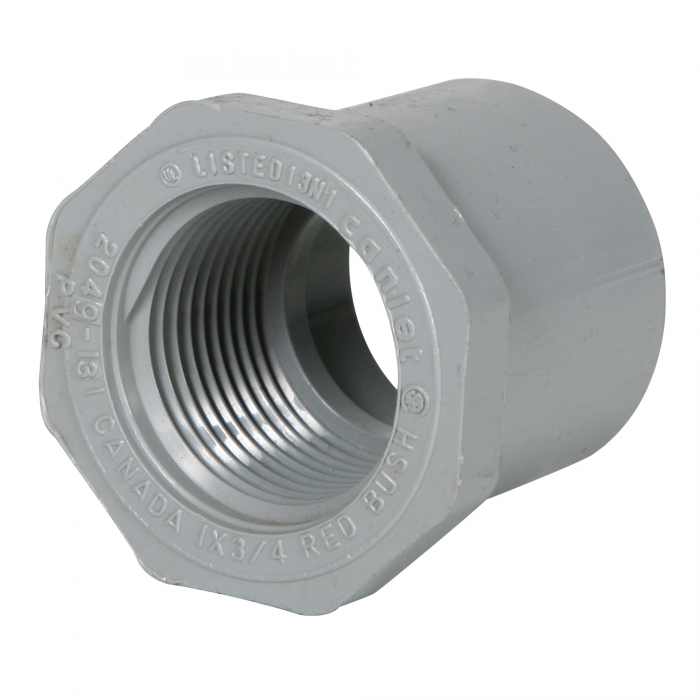PVC Bushings - 1 inch S X 3/4 inch F - View 1