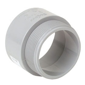 PVC Terminal Adapter - 3/4