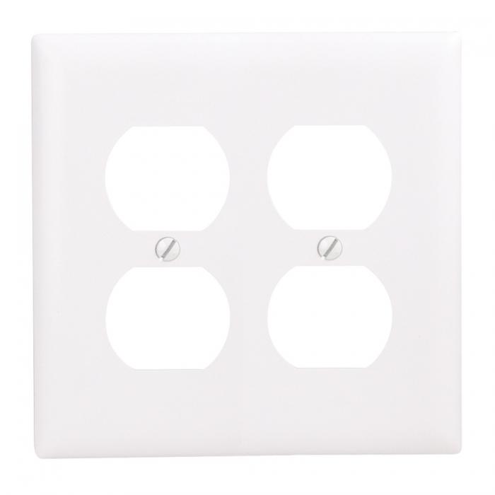 Wall Plates - Double Duplex Recept