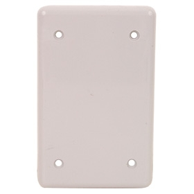 Wall Plates - Single Box Mounted Blank