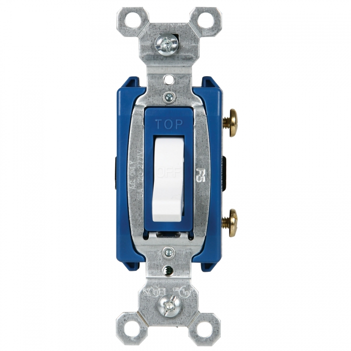 GE Switches - 15 Amp Single - Commercial