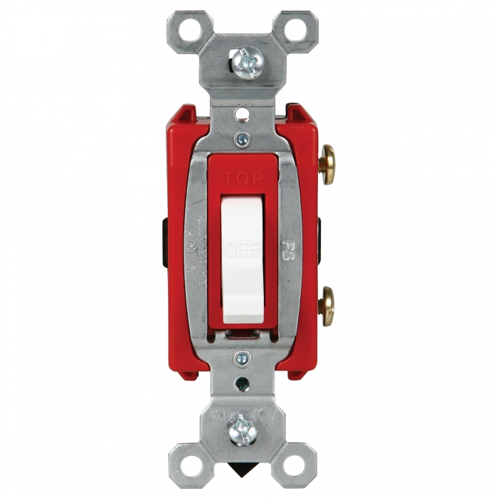GE Switches - 20 Amp Single - Commercial