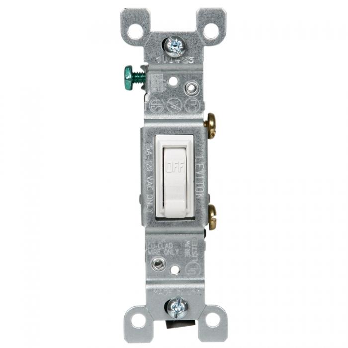 GE Switch - 15 Amp Single - Standard