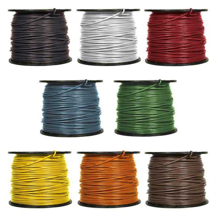 12 Ga. Stranded Copper Wire - By The Foot