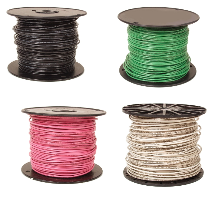 14 Ga. Single Strand Solid Copper Wire - By The Foot