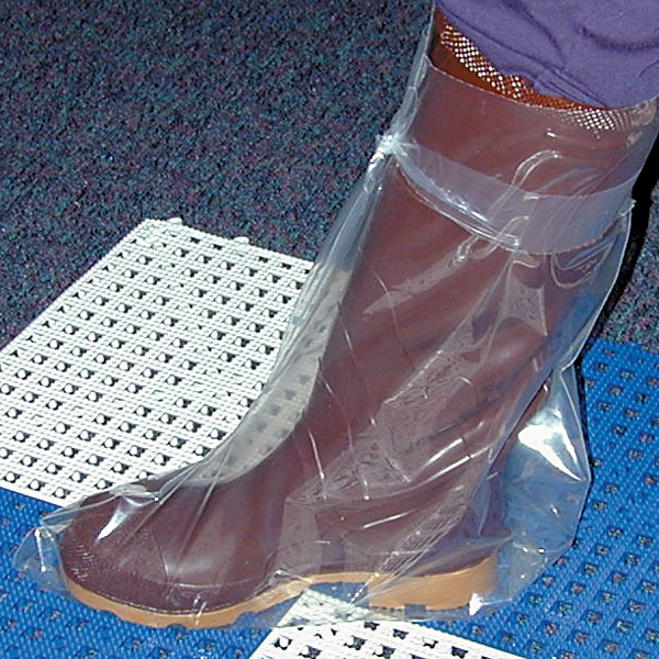 Knot-a-Boot Disposable Boots 4 mil. Size 8-12