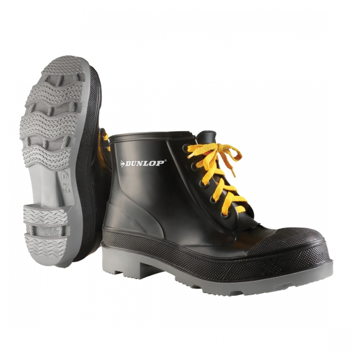 Dunlop Protective Footwear 6 inch Lace-Up Polyblend Work Shoe/Boot - Steel Toe