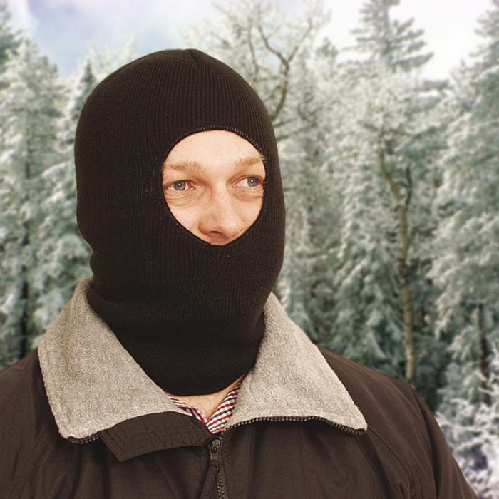 One Hole Face Mask