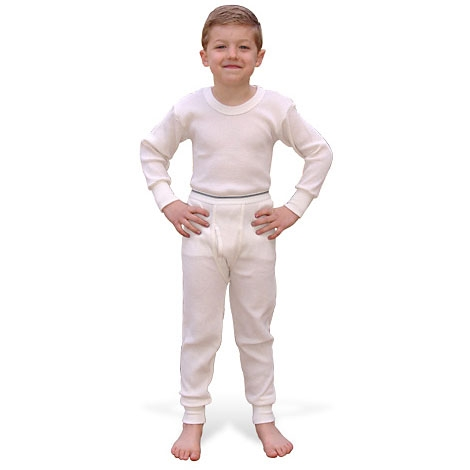 Indera Boys Basic Thermal Shirt and Pant Set