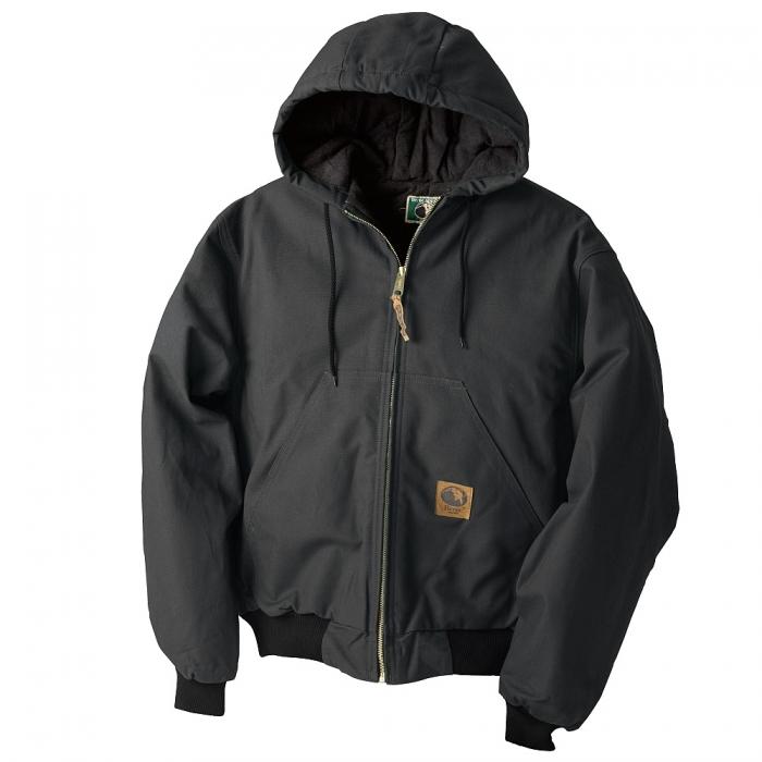 Berne® Quilt Lined Hooded Jacket
