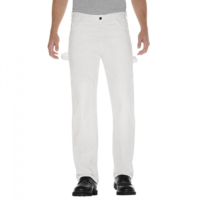 Dickies White Painter's Pants Front