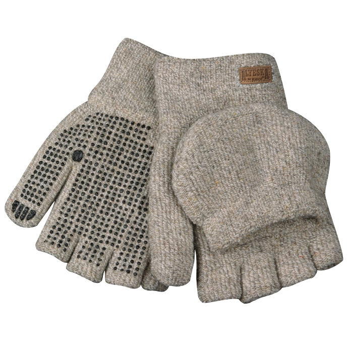 Kinco® Lined Half Glove/Mitten with PVC Dots