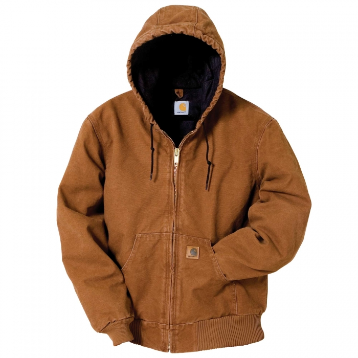 Carhartt Quilted Sandstone Duck Active Jacket Qc Supply