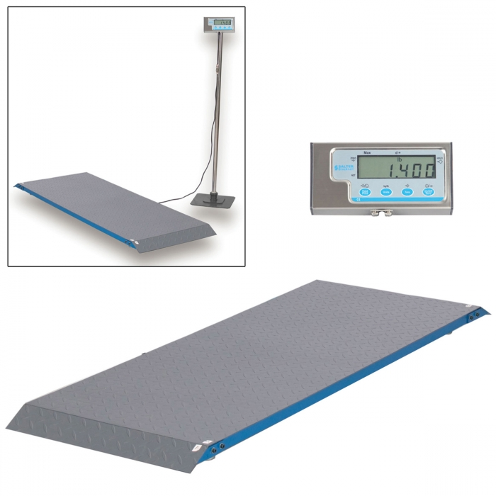 Salter Brecknell PS1000 Floor Scale with Indicator