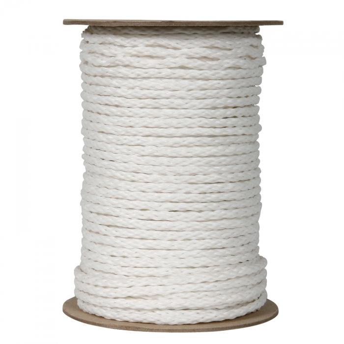 Polypropylene 3/16 inch x 250' White Braid Rope