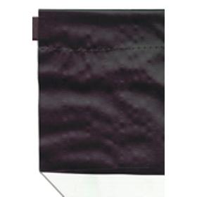 5.8 oz. Black/White Curtain