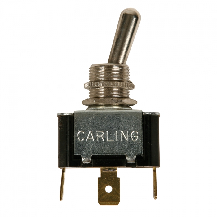 SPDT Toggle Switch for Hired Hand Curtain Controllers.