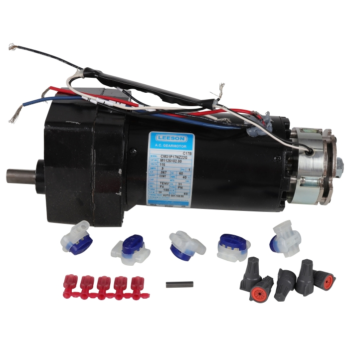 Leeson Single Phase AC Gearmotor