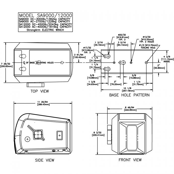 pierce winch wiring diagram  superwinch parts diagram