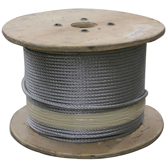 Stainless Steel Cable by THE ROLL - 1/8