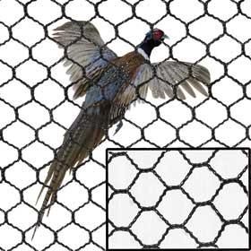 Flight-Top Netting - 1 inch x 25' x 150' - 65 lbs. Breaking Strength