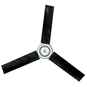Poly Fan Blades (3 Blade) - 1/2