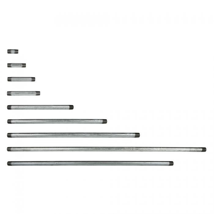 Galvanized Pipe Nipple - 1/2