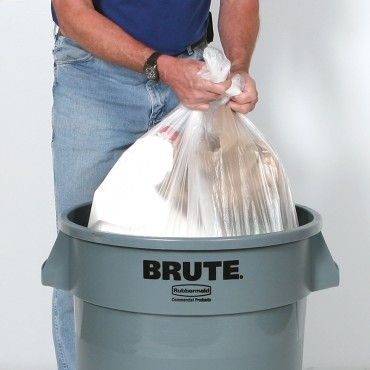 High-Density Economy Trash Can Liners