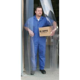 Ribbed Low Temperature PVC Vinyl Door Strip