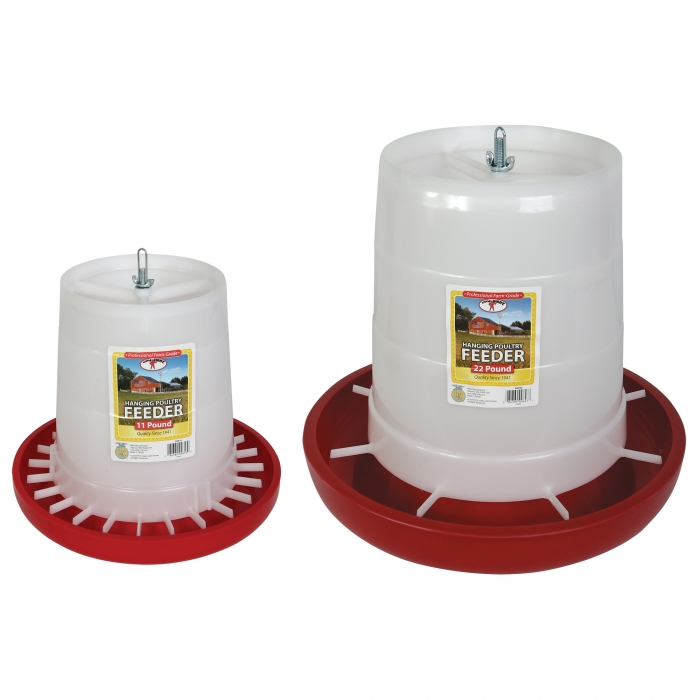 Little Giant Plastic Poultry Feeders