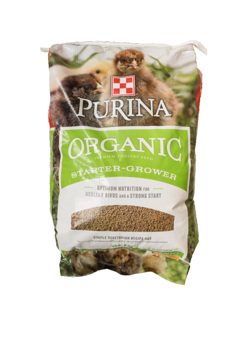 Purina Organic Starter-Grower Feed - 35 lbs
