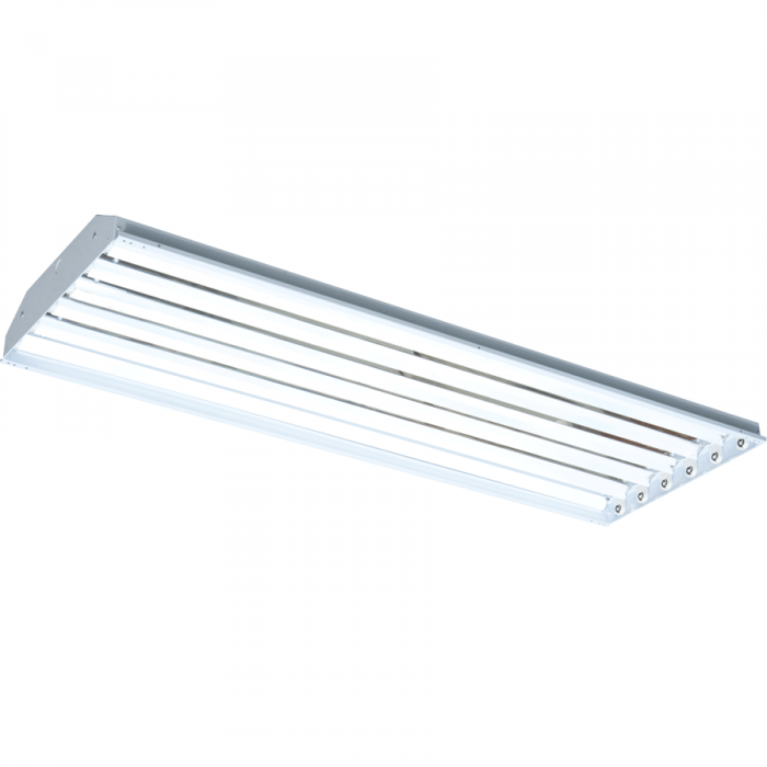 T-5 Fluorescent High Bay Lighting - 6 Bulb Fixture | QC Supply