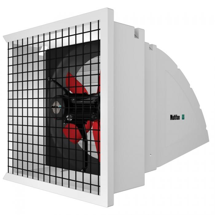 Multifan System 1 Fan - Model 4E25 - 10