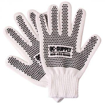 PVC Dot String Knit Gloves